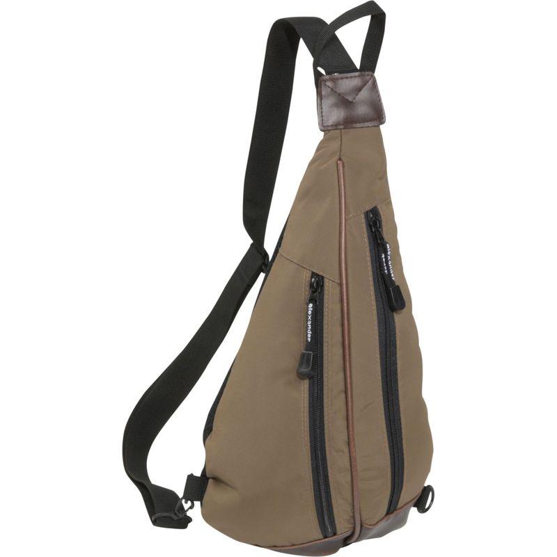 デレクアレクサンダー メンズ ハンドバッグ バッグ Cross Shoulder Body Bag Taupe