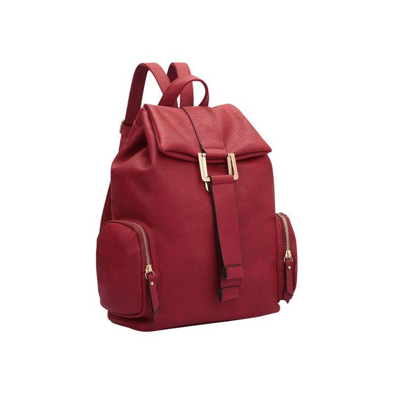 ダセイン メンズ ハンドバッグ バッグ Drawstring Accent Backpack with Side Pockets Red