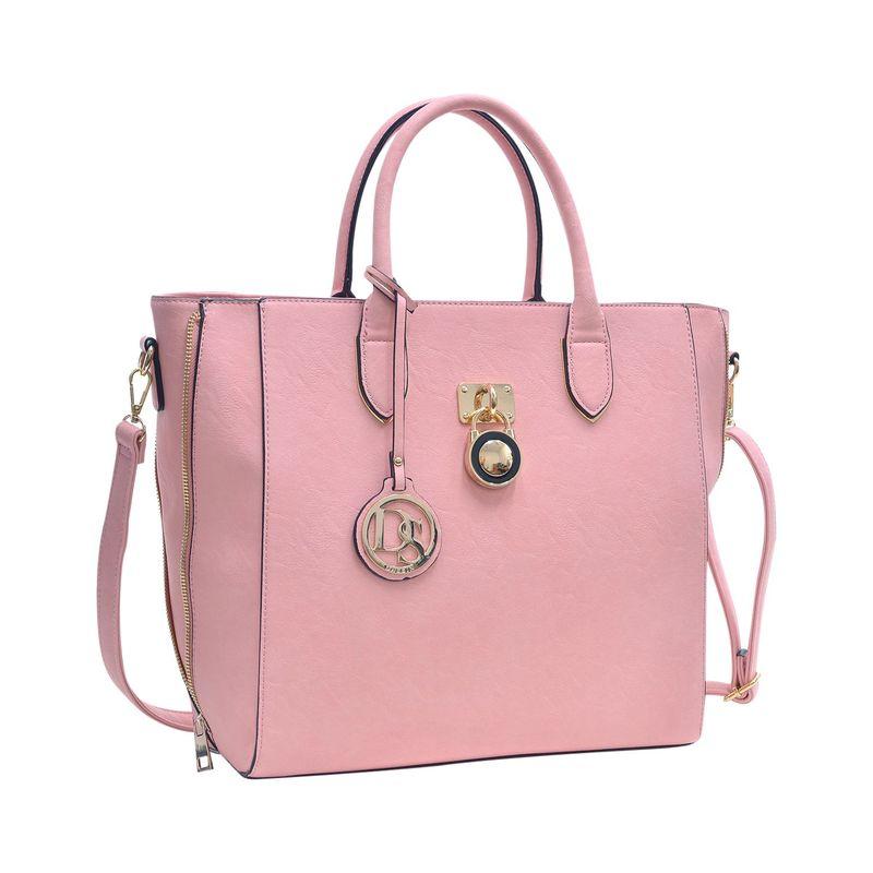 ダセイン メンズ トートバッグ バッグ Zipper Sides Medium Tote Pink