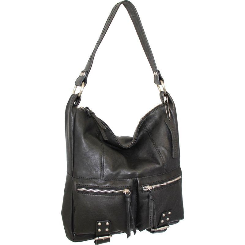 ニノボッシ メンズ ショルダーバッグ バッグ Amelia Shoulder Bag Black