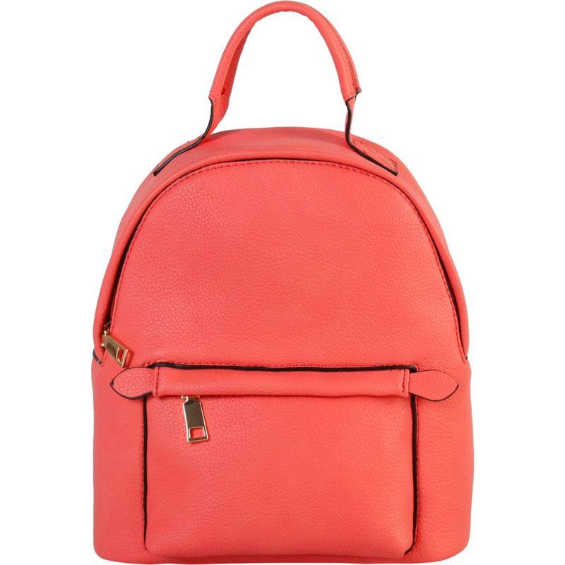 ディオフィ メンズ ハンドバッグ バッグ Simple Design Classic Medium Backpack Coral