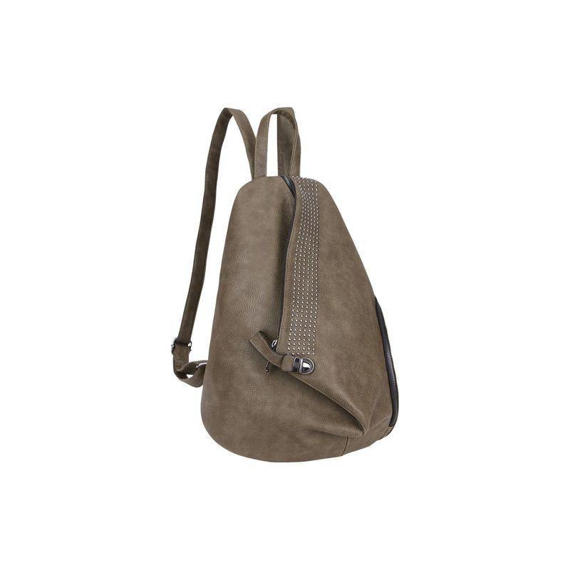 ダセイン メンズ ハンドバッグ バッグ Fashionable Sling Style Backpack with Studs Dark Green