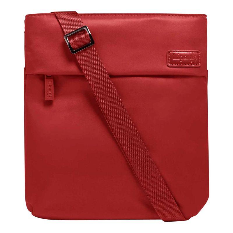 リパルトパリ メンズ ボディバッグ・ウエストポーチ バッグ City Plume Crossover Crossbody Bag Cherry Red