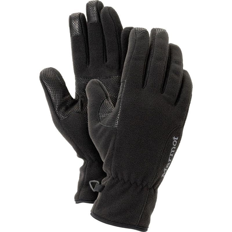 マーモット レディース 手袋 アクセサリー Womens Windstopper Glove XS - Black