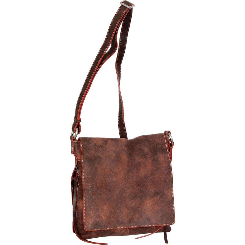 ニノボッシ メンズ ボディバッグ・ウエストポーチ バッグ Deja Cross Body Bag Chocolate