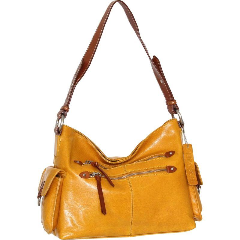 ニノボッシ メンズ ショルダーバッグ バッグ Pandora Shoulder Bag Mustard