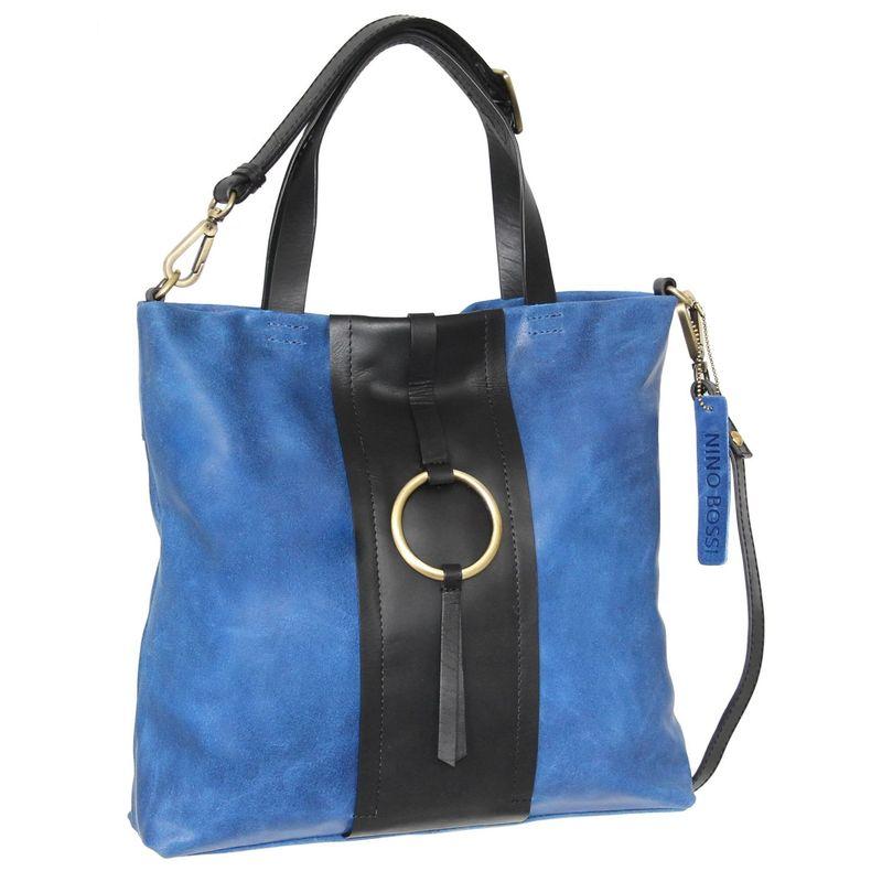ニノボッシ メンズ トートバッグ バッグ Alba Tote Blue