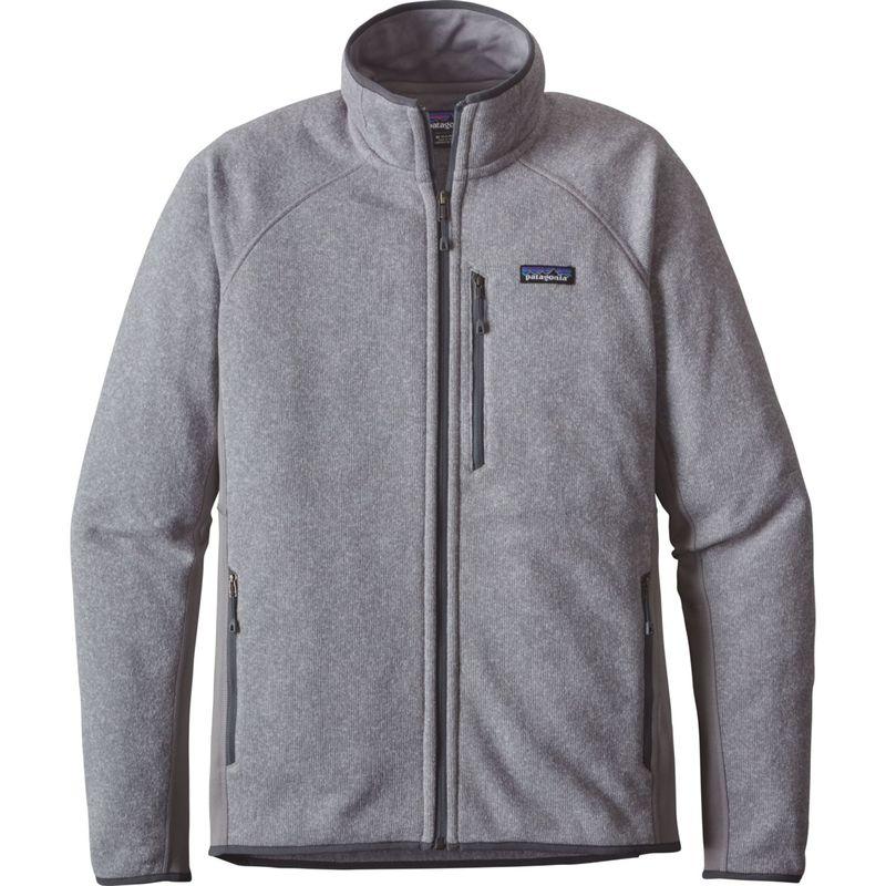 パタゴニア メンズ ニット・セーター アウター Mens Performance Better Sweater Jacket XXS - Feather Grey