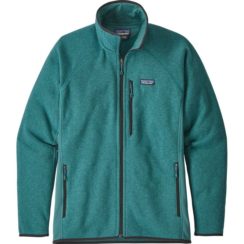 パタゴニア メンズ ニット・セーター アウター Mens Performance Better Sweater Jacket XXS - Tasmanian Teal
