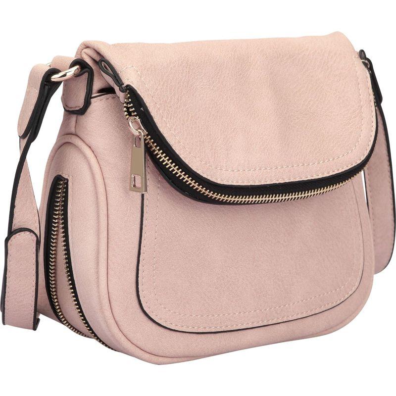 ダセイン メンズ ボディバッグ・ウエストポーチ バッグ Front Flap Crossbody Bag Pink
