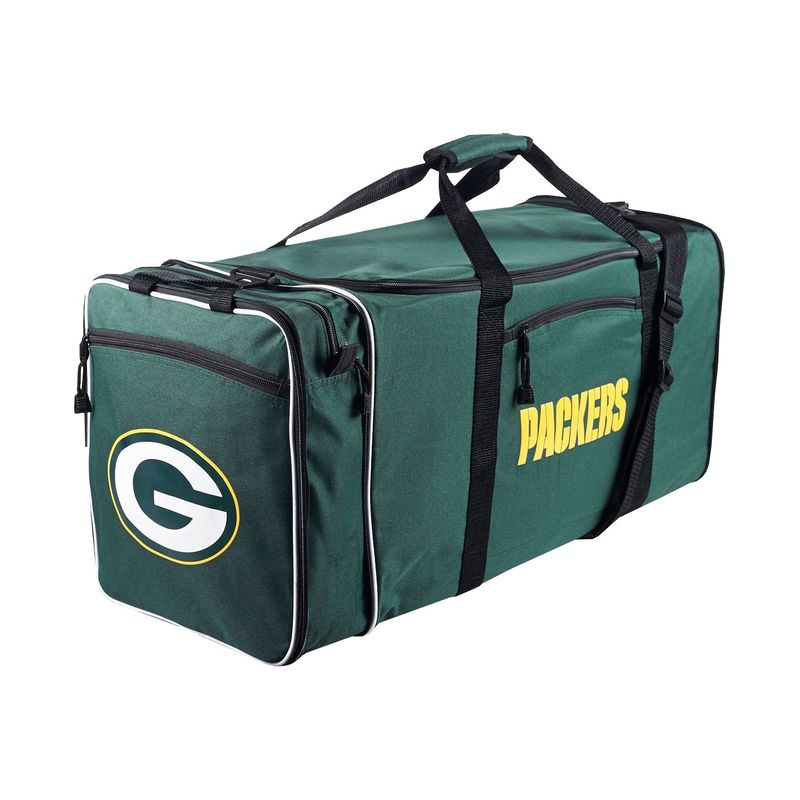 NFL メンズ ボストンバッグ バッグ Steal Duffel Green Bay Packers