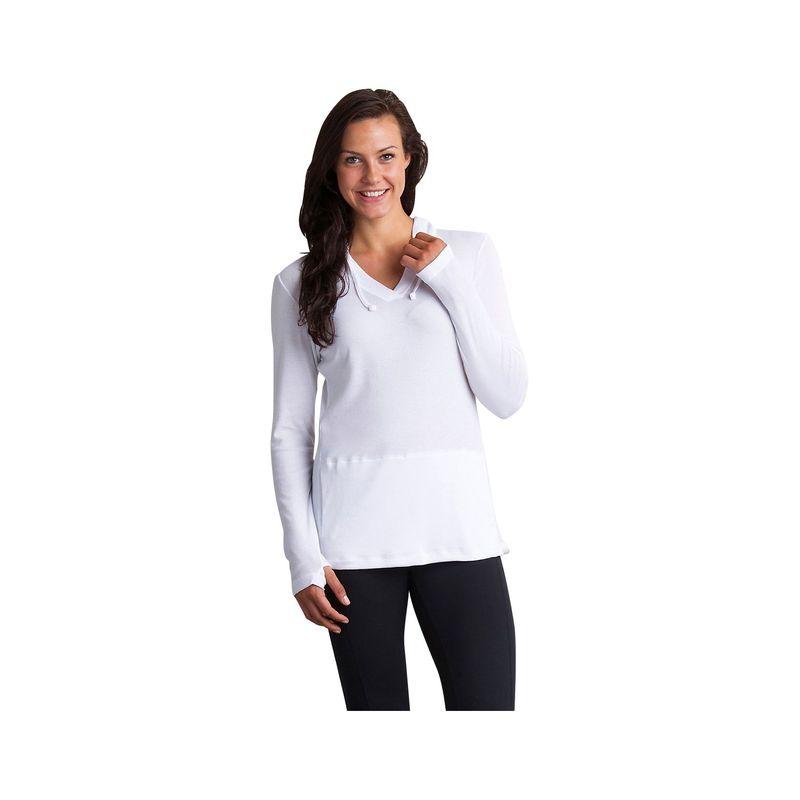 エクスオフィシオ レディース White XS ニット・セーター ニット・セーター アウター Womens BugsAway Lumen Hoody XS - White, タイピン&カフスの専門店 BLITZ:c7626ced --- itxassou.fr
