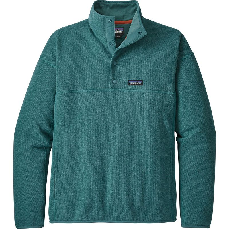 パタゴニア メンズ ニット・セーター アウター Mens Lightweight Better Sweater Marsupial Pullover XS - Tasmanian Teal