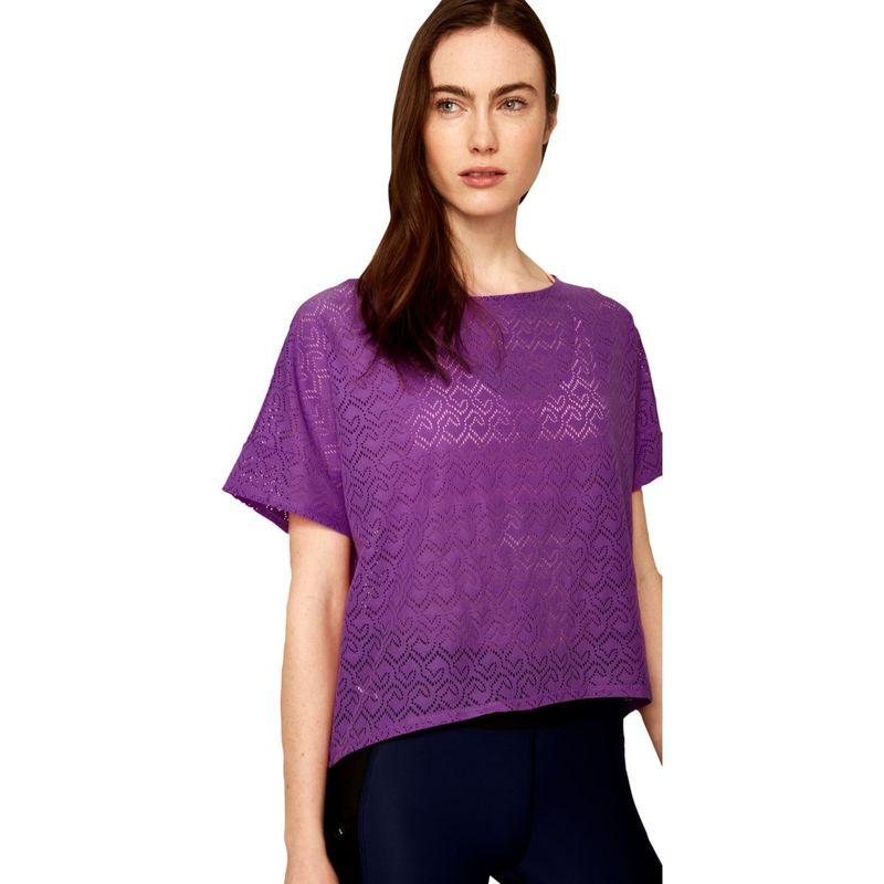 ロル レディース シャツ トップス Beth Edition Top M - Purple Cactus Flower