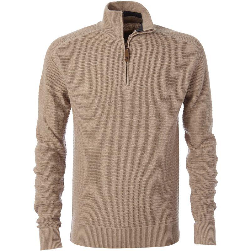 ロイヤルロビンズ メンズ ニット・セーター アウター Mens All Season Merino Thermal 1/4 Zip S - Oatmeal