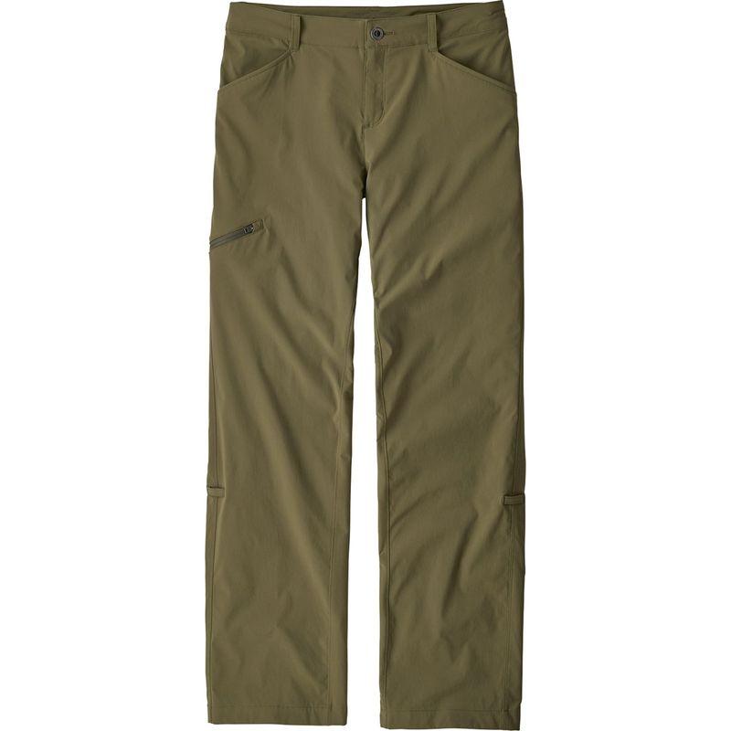 パタゴニア レディース カジュアルパンツ ボトムス Womens Quandary Pants 6 - Petite - Fatigue Green