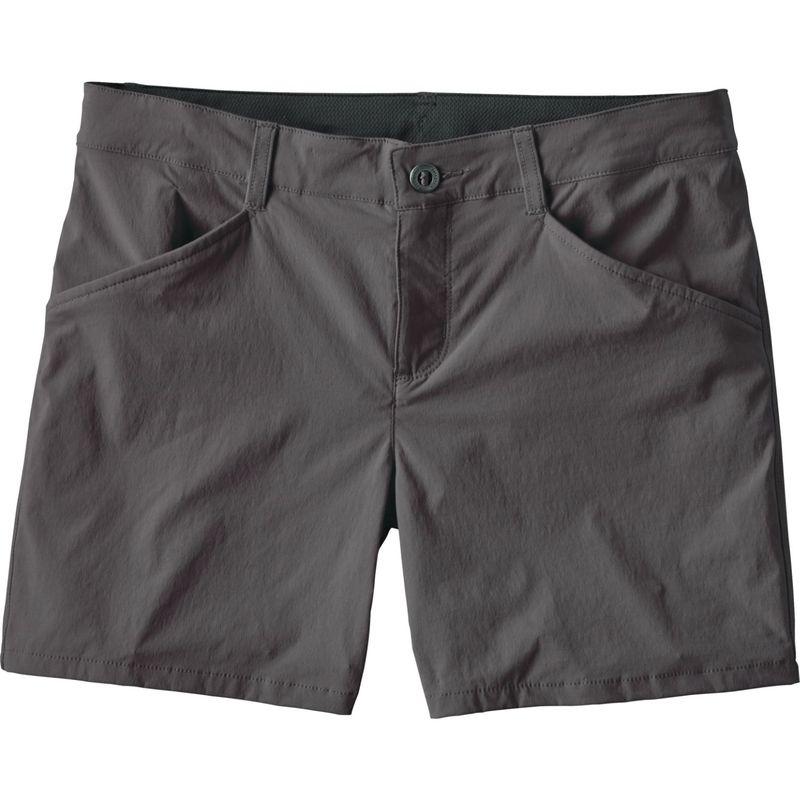 パタゴニア レディース カジュアルパンツ ボトムス Womens Quandary Shorts - 5 in. 16 - Forge Grey
