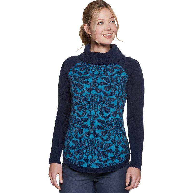 トードアンドコー レディース ニット・セーター アウター Lucianna T-Neck Sweater S - Deep Navy