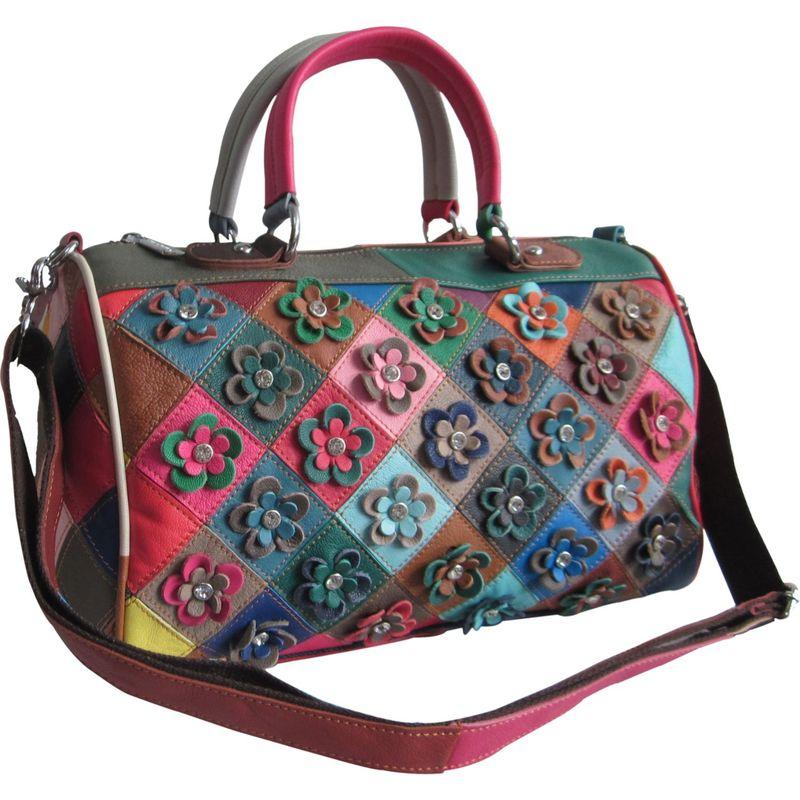 アメリ メンズ ハンドバッグ バッグ Francienne Leather Handbag Rainbow