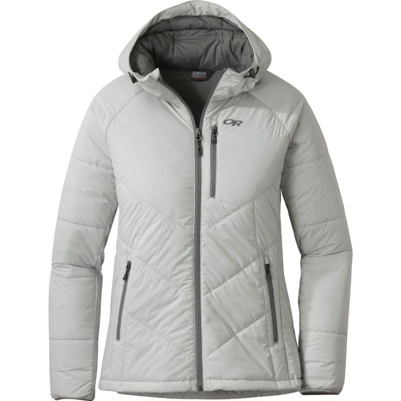 アウトドアリサーチ レディース ジャケット・ブルゾン アウター Womens Refuge Hooded Jacket XS - Alloy