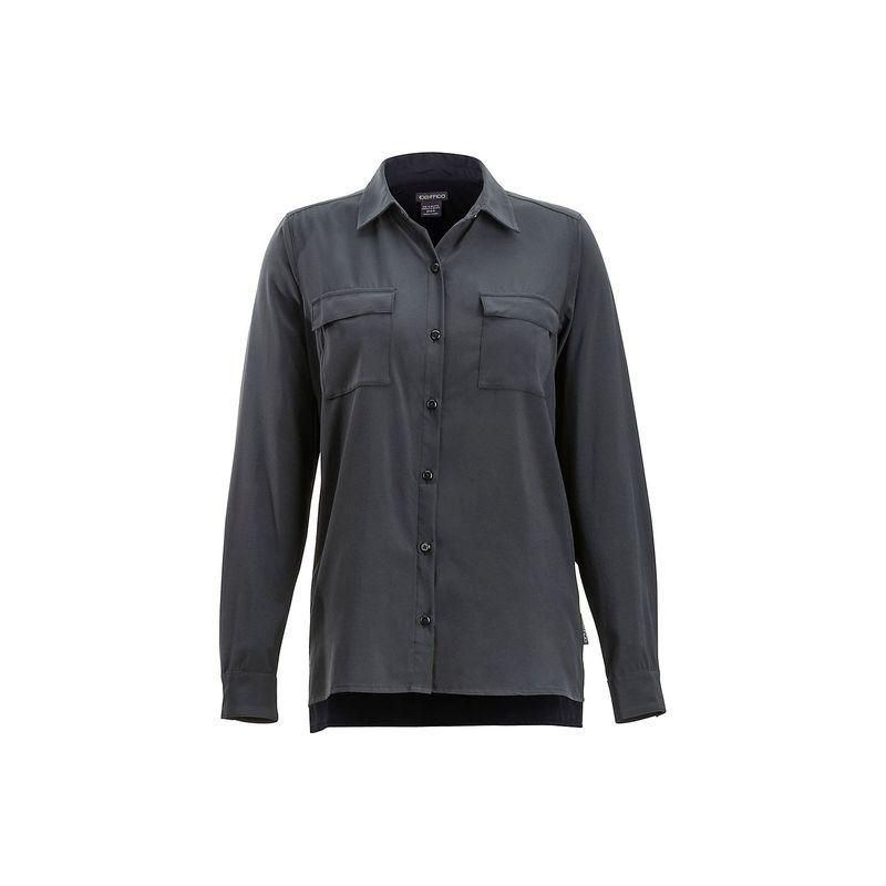 エクスオフィシオ レディース シャツ トップス Womens Kizmet Long Sleeve Shirt XS - Black