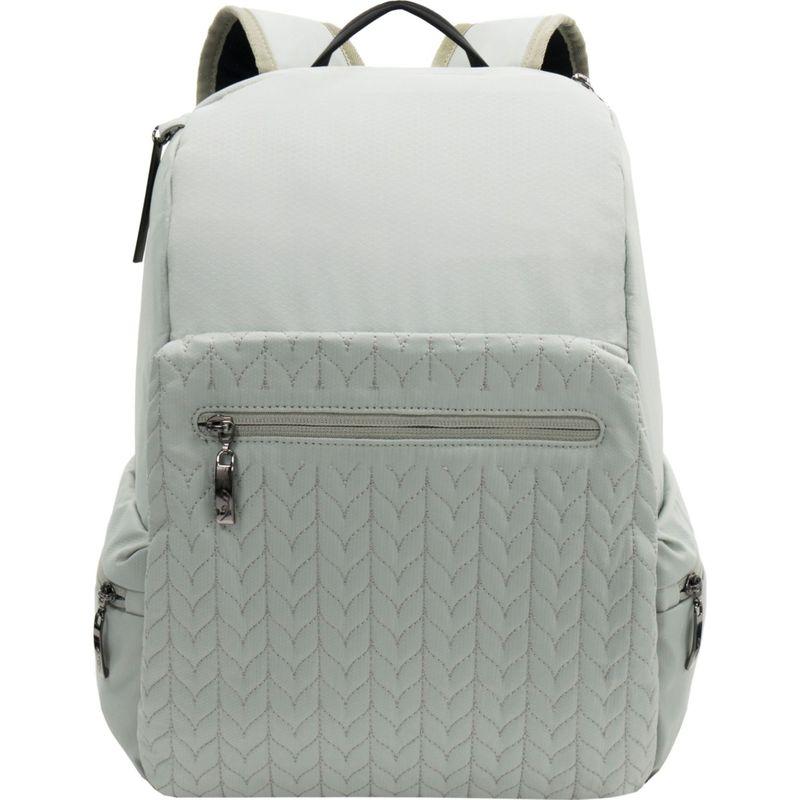 シェルパニ メンズ バックパック・リュックサック バッグ Bryce LE RFID Anti-theft Laptop Backpack Willow