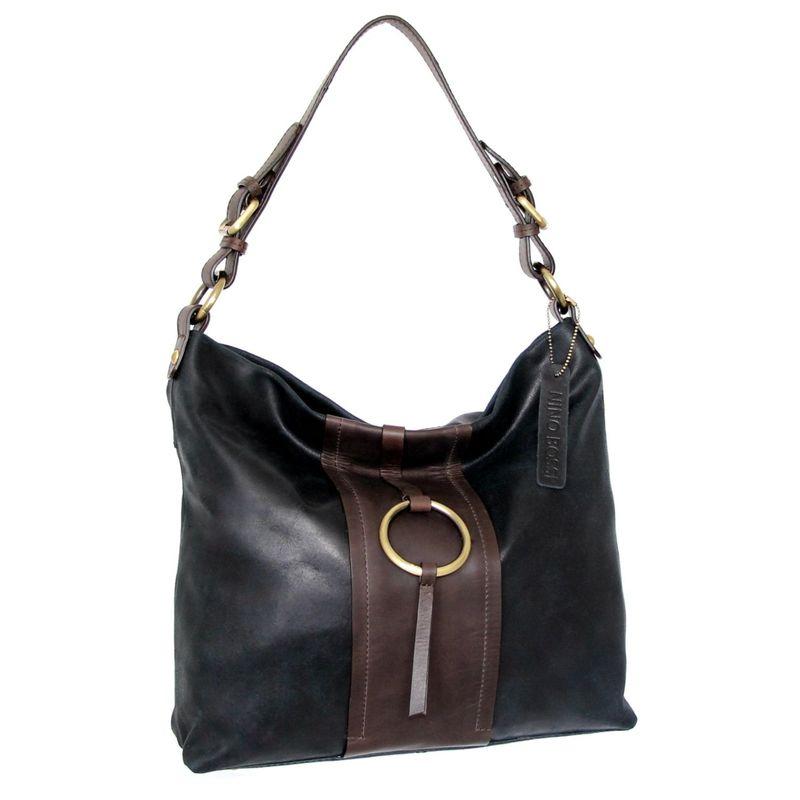 ニノボッシ メンズ ショルダーバッグ バッグ Eryn Shoulder Bag Black