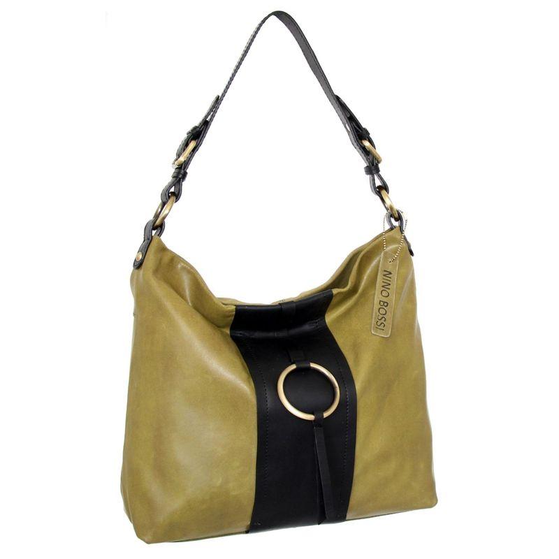 ニノボッシ メンズ ショルダーバッグ バッグ Eryn Shoulder Bag Light Green