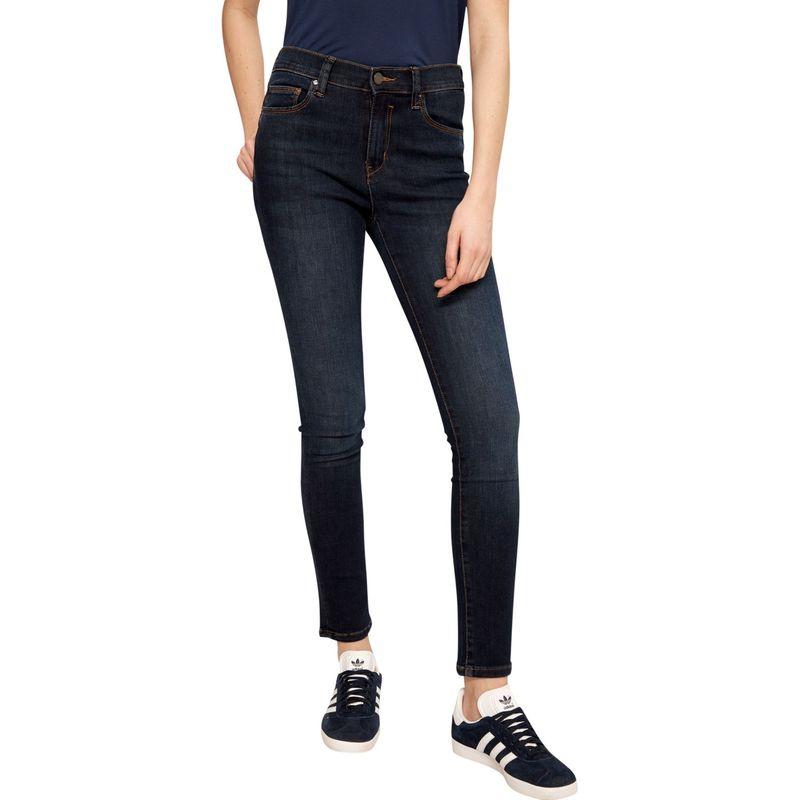 ロル レディース カジュアルパンツ ボトムス Skinny Long Lole Jeans 24 - Dark Blue Denim Wash