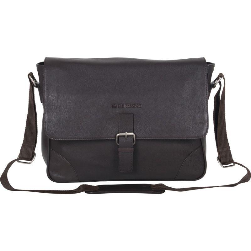 ベンシャーマン メンズ スーツケース バッグ Karino Leather Crossbody 15