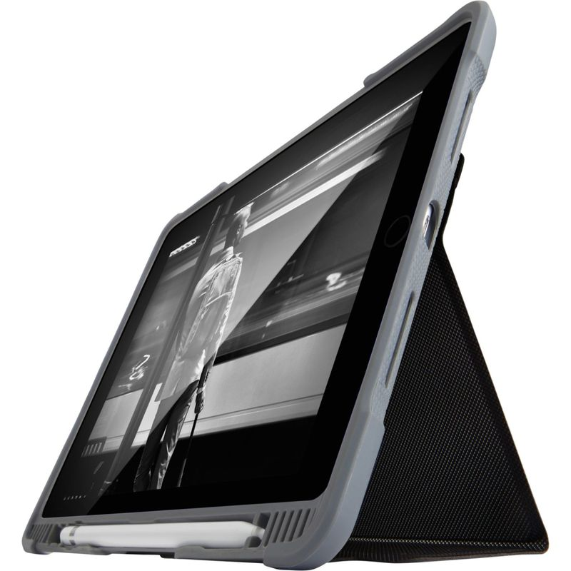 STMグッズ メンズ PC・モバイルギア アクセサリー Dux Plus Ultra Protective Case for Apple iPad 6th Gen Black