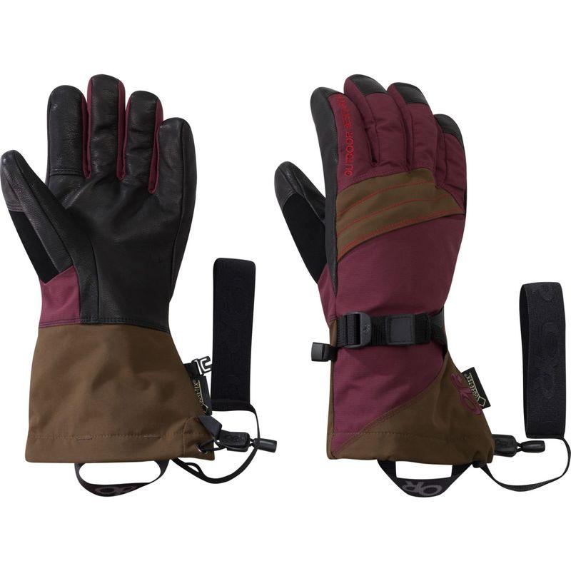 アウトドアリサーチ レディース 手袋 アクセサリー Women's Southback Sensor Gloves S - Zin/Carob/Tomato