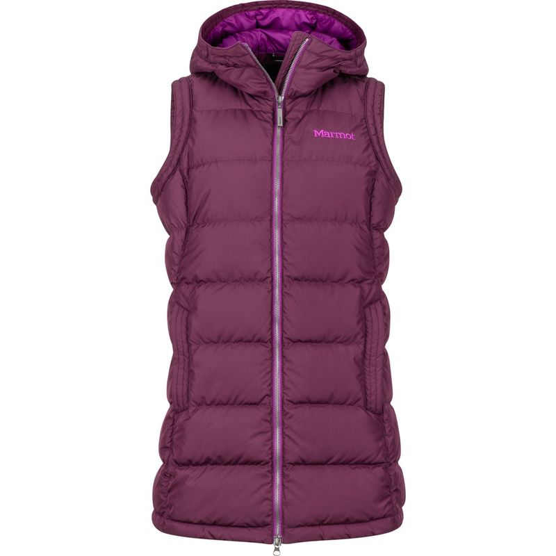 マーモット レディース ジャケット・ブルゾン アウター Womens Origins Vest XS - Dark Purple