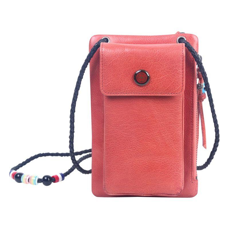 オールドトレンド メンズ ボディバッグ・ウエストポーチ バッグ Rillet Wallet-Crossbody Pink