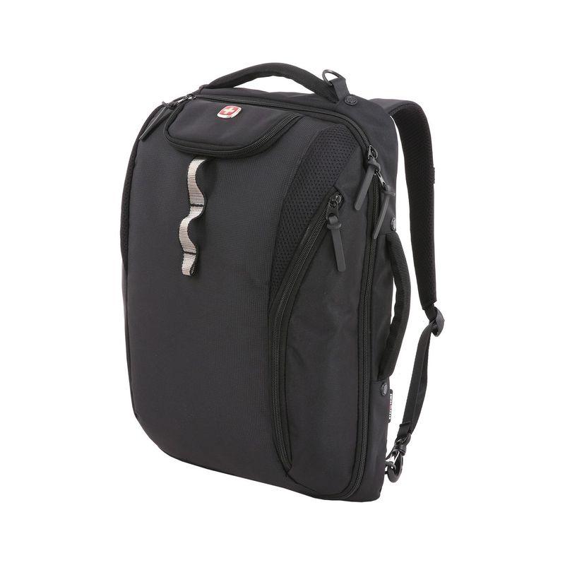 スイスギアトラベルギア メンズ スーツケース バッグ 2913 Laptop Backpack Brief Black