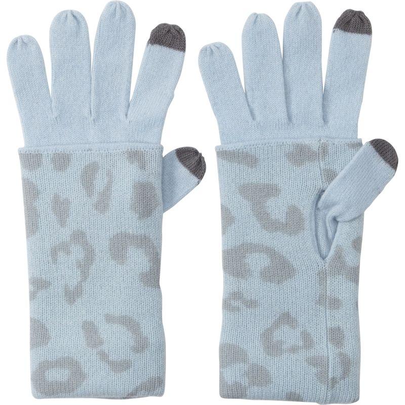 送料無料 サイズ交換無料 キンロスカシミア レディース アクセサリー 手袋 One Size - Arctic Multi キンロスカシミア レディース 手袋 アクセサリー Leopard Print Gloves One Size - Arctic Multi