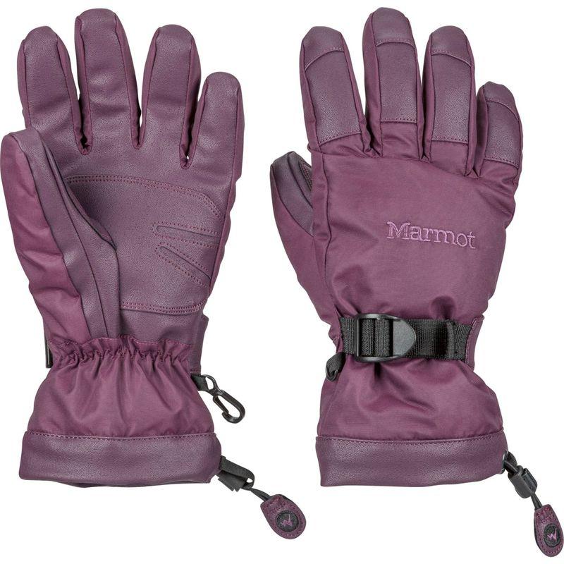 マーモット レディース 手袋 アクセサリー Womens Nano Pro Glove M - Dark Purple