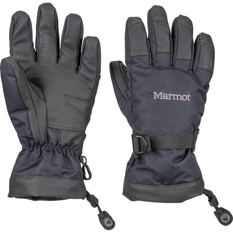 マーモット レディース 手袋 アクセサリー Womens Nano Pro Glove S - Black