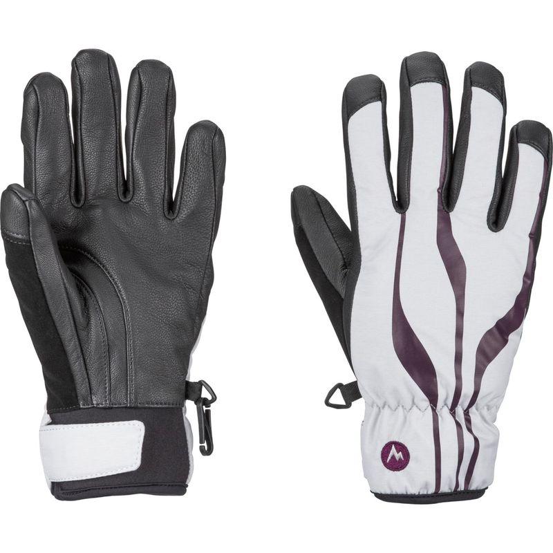 マーモット レディース 手袋 アクセサリー Womens Spring Glove M - Bright Steel/Dark Purple