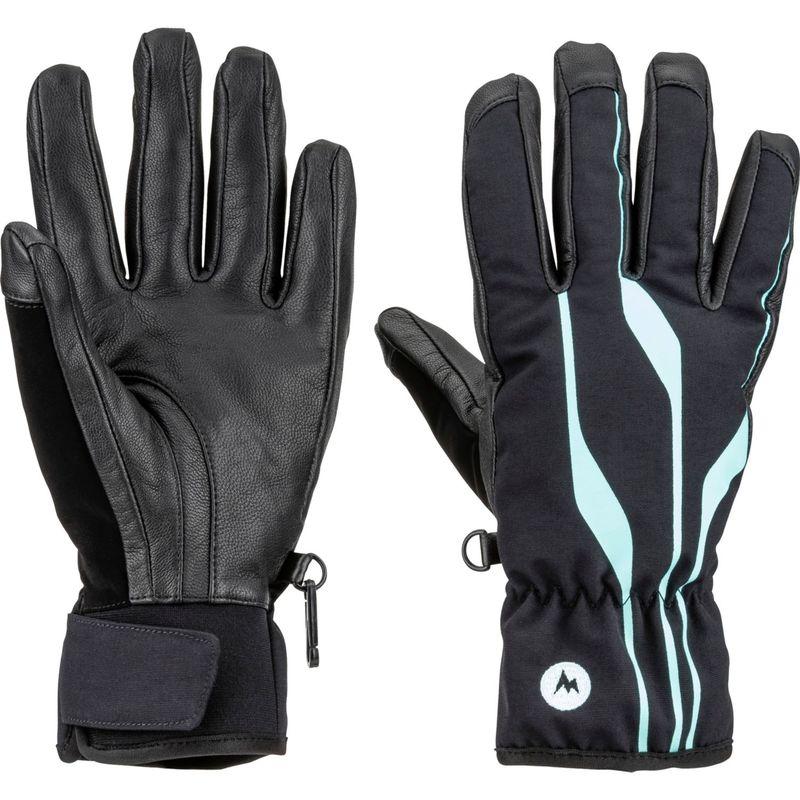 マーモット レディース 手袋 アクセサリー Womens Spring Glove XS - Black