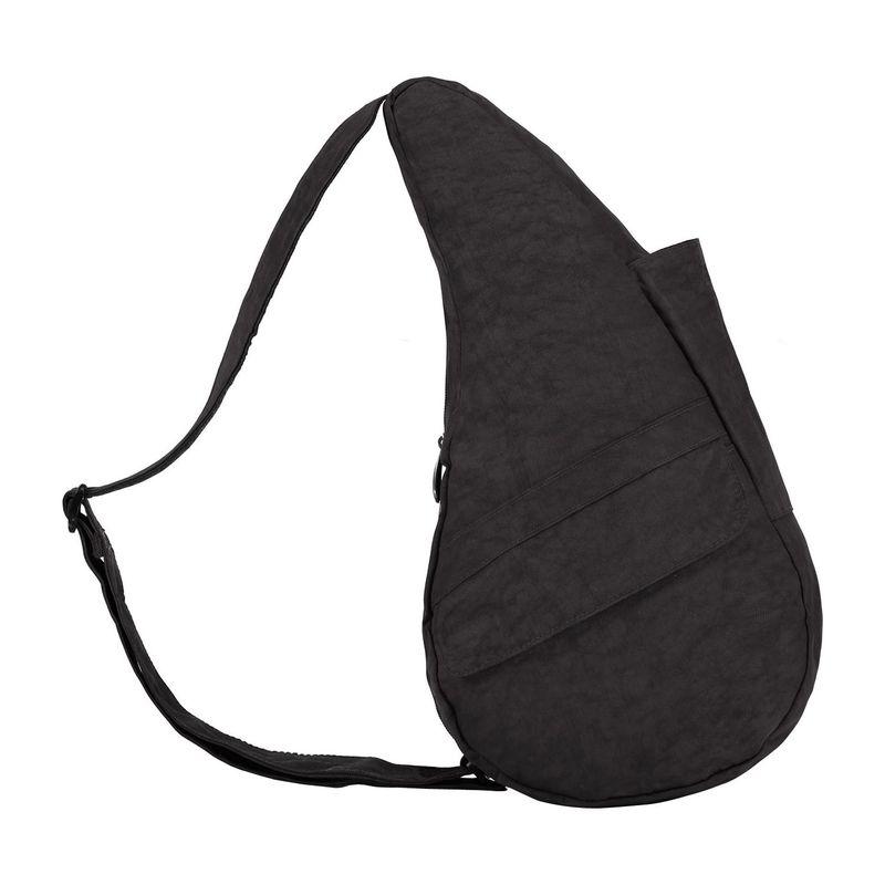 アメリバッグ メンズ ハンドバッグ バッグ Healthy Back Bag ? Distressed Nylon Extra Small Black