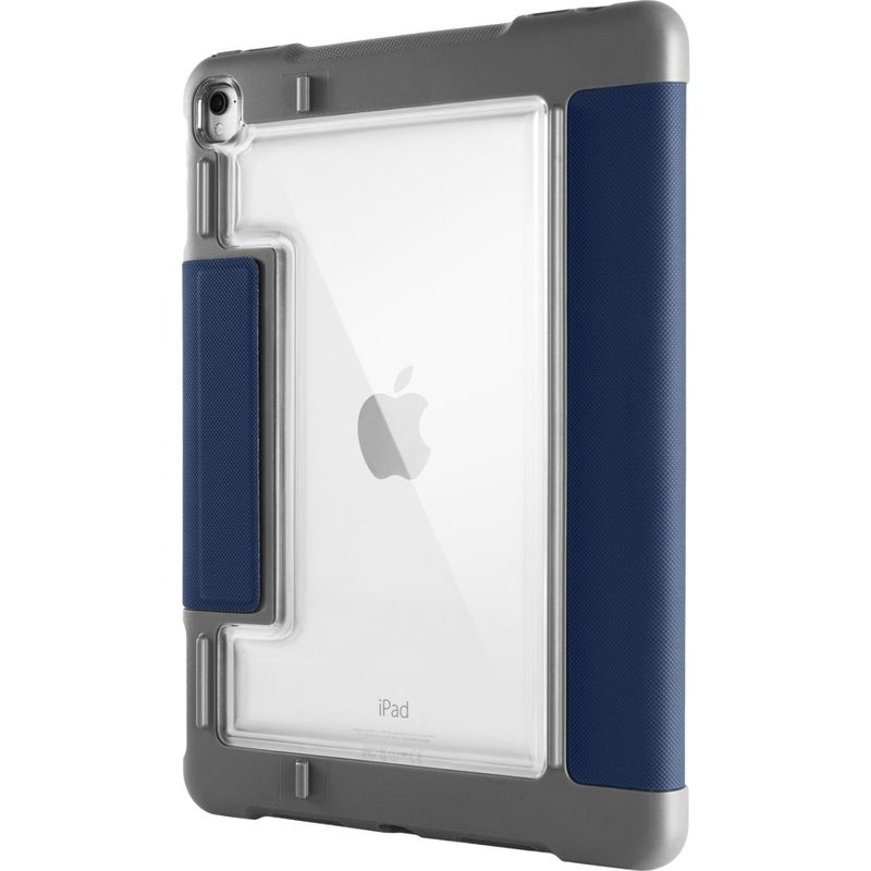 STMグッズ メンズ PC・モバイルギア アクセサリー DUX Plus 10.5-inch Case for iPad Pro (2017) Midnight Blue
