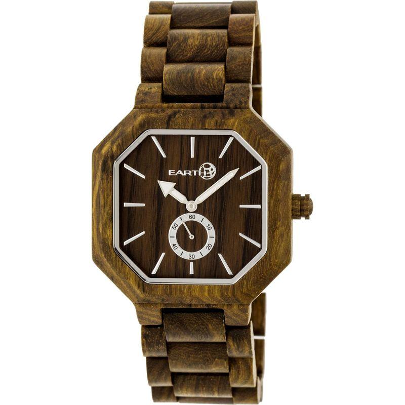 アースウッド メンズ 腕時計 アクセサリー Acadia Watch Olive