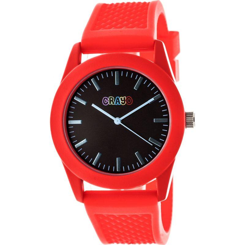 クラヨ メンズ 腕時計 アクセサリー Storm Strap Watch Red