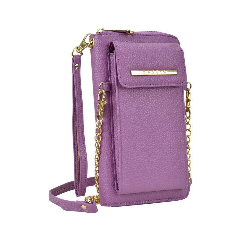ダセイン メンズ ボディバッグ・ウエストポーチ バッグ Fashion All-In-One Convertible Crossbody Purple