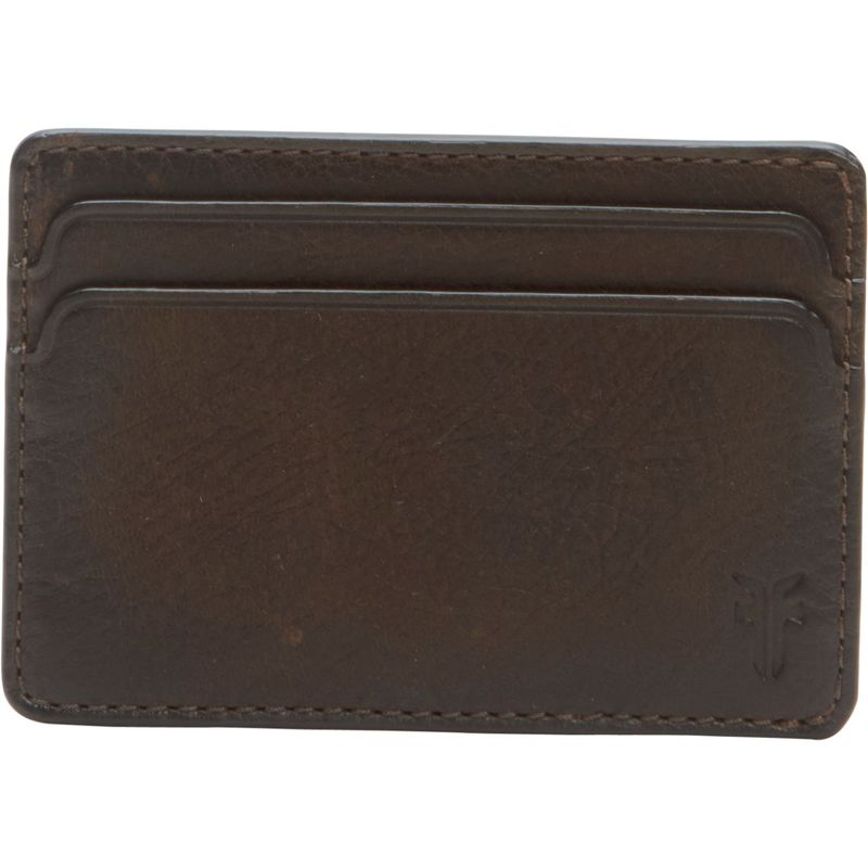 フライ メンズ 財布 アクセサリー Oliver Id Card Case Dark Brown