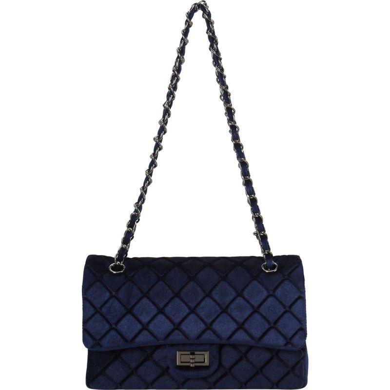 ディオフィ メンズ ショルダーバッグ バッグ Quilted 2 in 1 Shoulder Bag Blue