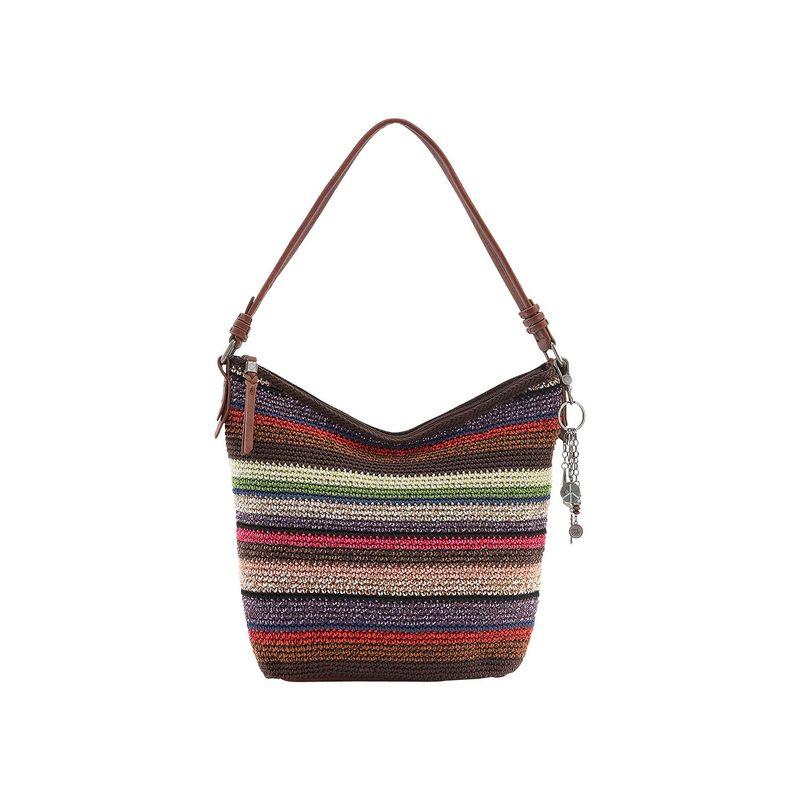 ザサック メンズ ハンドバッグ バッグ Sequoia Crochet Hobo Vagabond Stripe