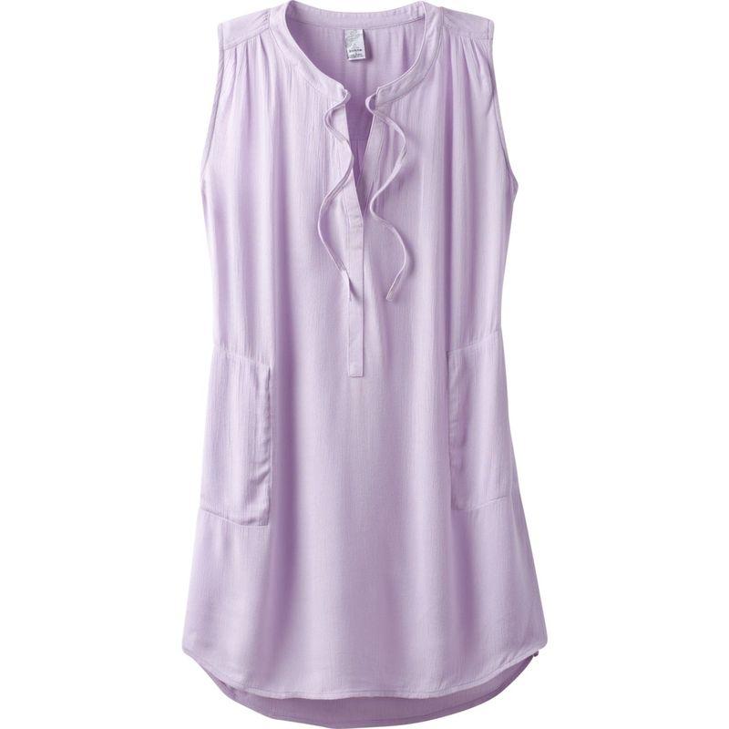 プラーナ レディース シャツ トップス Natassa Crinkled Tunic XS - Bleached Lavender
