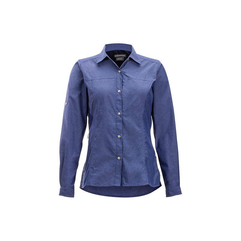 エクスオフィシオ レディース シャツ トップス Womens Lightscape Long Sleeve Shirt S - Bellflower